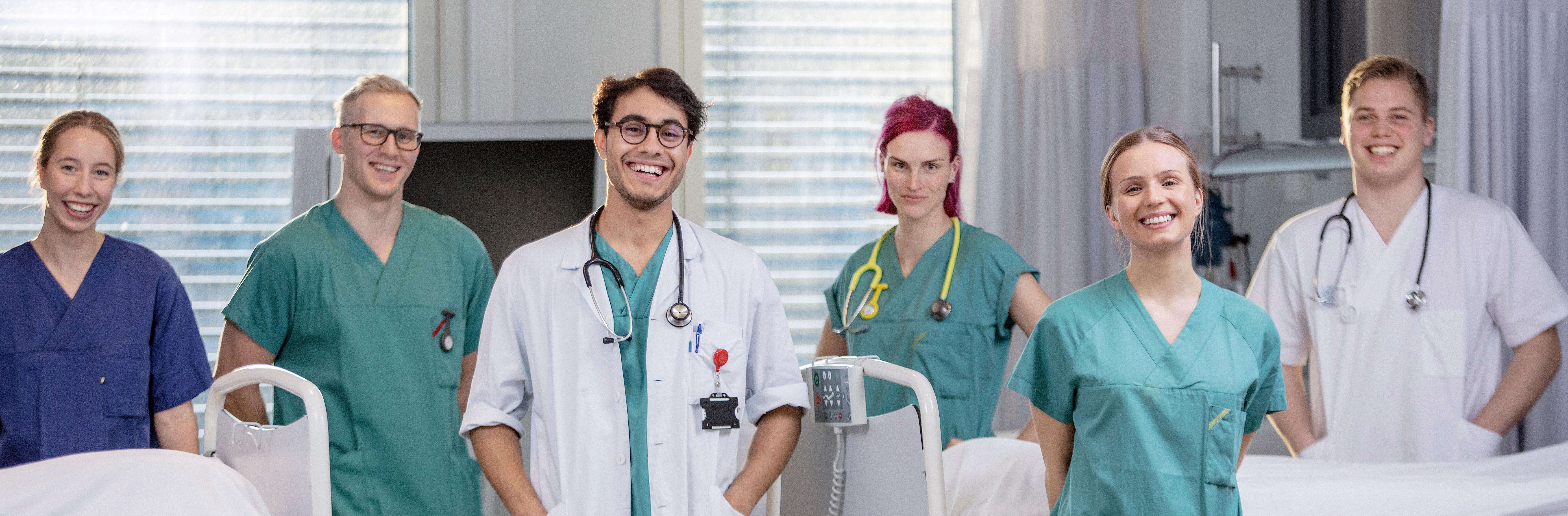Studenter ved Fakultet for medisin og helsevitenskap